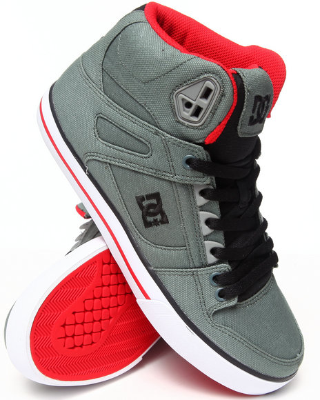 Dc Shoes - Men Multi Spartan Hi Wc Tx Sneakers - $62.99