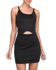 Gifts for Her - Marly Body Con Dress w/peek a boo waist detail