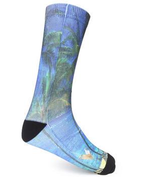 Buyers Picks - Palm Tree Sublimation Socks