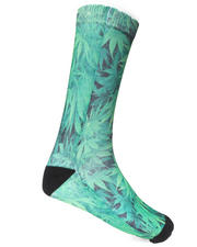 Buyers Picks - Weed Sublimation Socks