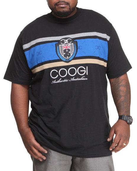 COOGI - Men Black Coogi Legacy Logo Tee (B & T)