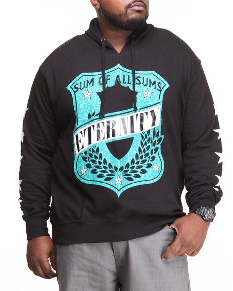Blac Label Black Sums Crest Hoodie (Big & Tall)