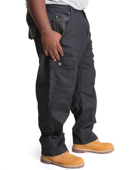 Blac Label - Men Black Blp Coated Denim Jeans