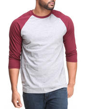 Basic Essentials - 3/4 Sleeve Raglan Tee