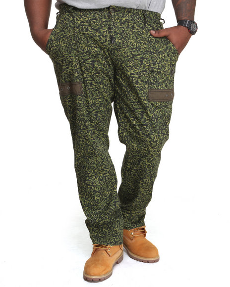 Lrg - Men Olive Savages True-Straight Pants (B&T)