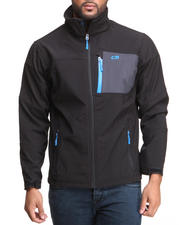 Men - Softshell Full Zip Jacket