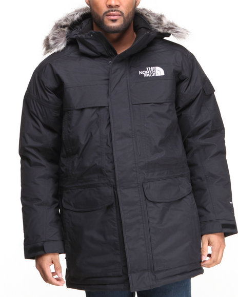 The North Face Black Mcmurdo Parka