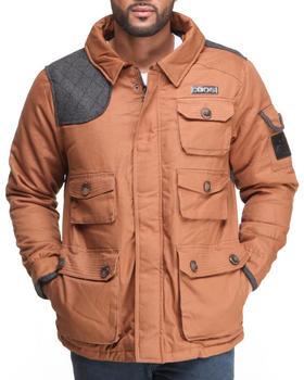 COOGI - Parka Twill Jacket w/ Herringbone Detail