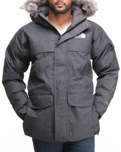 The North Face - Men Grey Mcmurdo Parka