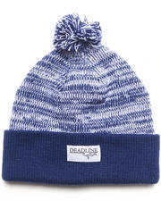 The Skate Shop - Salt & Pepper Pom Beanie