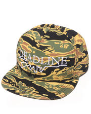 Men - Tiger Camo Snapback Cap