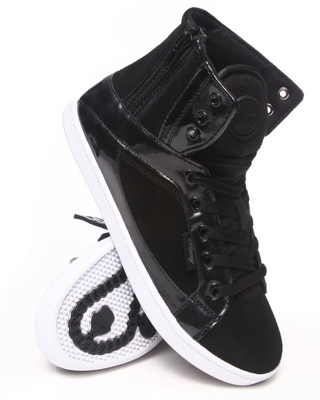 Pastry - Women Black Smoothie Side Zip Sneaker