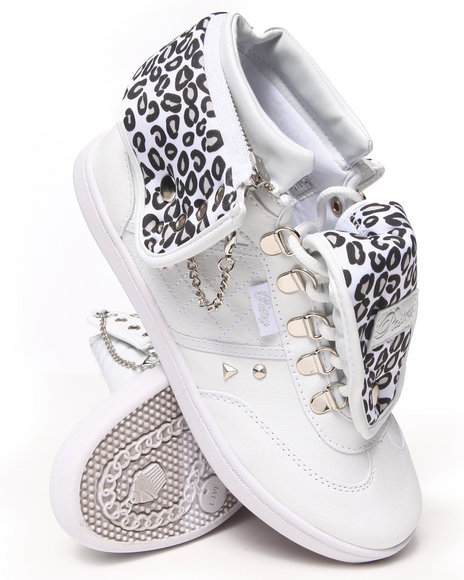 Pastry - Women White Sugar Swirl D-Ring Sneaker