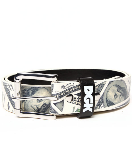Dgk Benjy's Pu Leather Belt Green