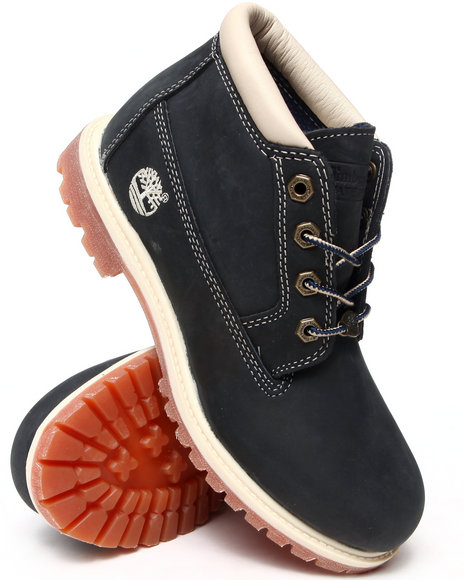 Timberland - Women Cream, Navy Women's Waterproof Nellie Chukka Boots