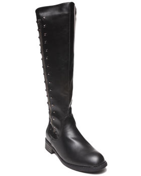 Fashion Lab - Helen Riding Boot w/studs