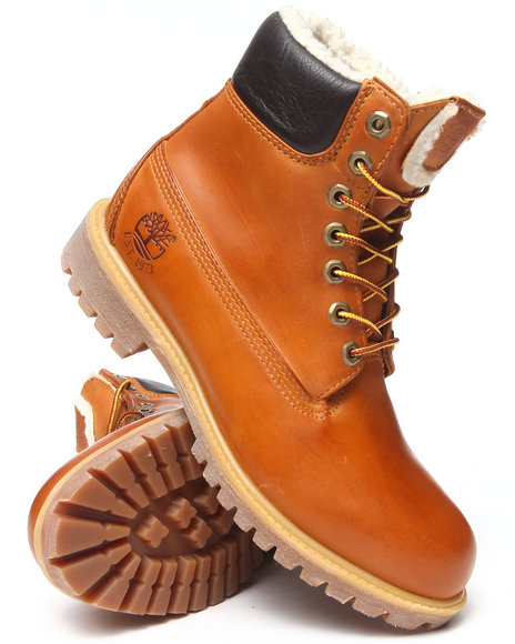 Timberland - Men Wheat 6 Inch Waterproof Snow Fleece Lined Boots