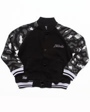 Light Jackets - LEOPARD TRACK JACKET (4-7)