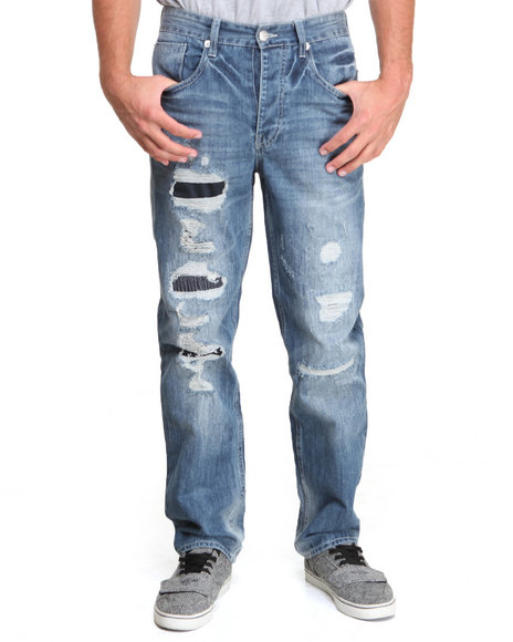 Parish Dark Wash Leros Denim Jeans