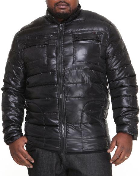 Enyce - Men Black Yukon Quilted Padding Jacket (B&T)