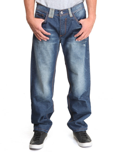 COOGI Men Blue Coogi Legacy Denim Jeans