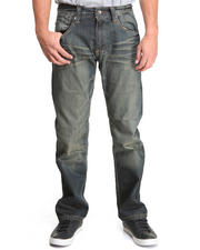 Men - Rustic Wash Premium Straight fit denim jeans
