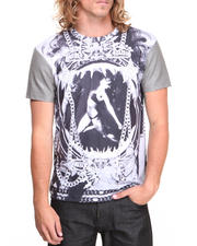 Men - Black Mermaid Sublimated S/S Tee