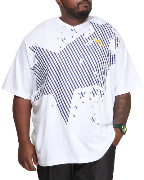 Rocawear - Men White R Star Tee (B&T)