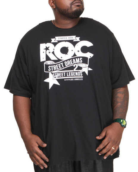 Rocawear - Men Black Dreams Tee (B&T)