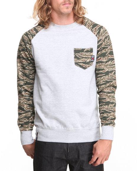 Enyce - Men Camo Predator Crew Sweatshirt