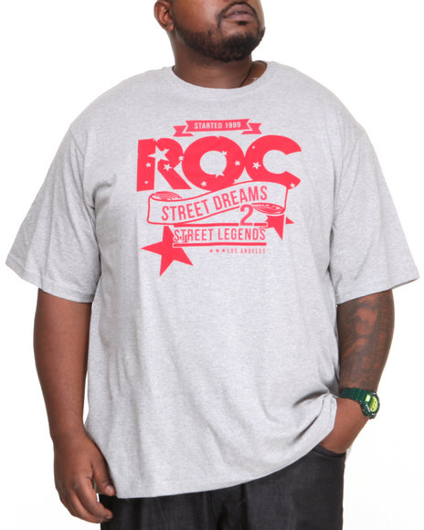 Rocawear - Men Grey Dreams Tee (B&T)
