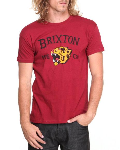 Brixton Maroon Harlow Tee