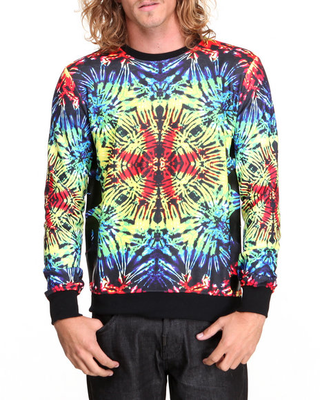 Bass By Ron Bass Multi Bass K-Scope Crewneck Sweatshirt
