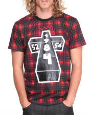 Shirts - Cross Plaid S/S Tee