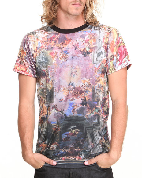 Buyers Picks - Men Multi Chapel Sublmation S/S Tee - $26.99