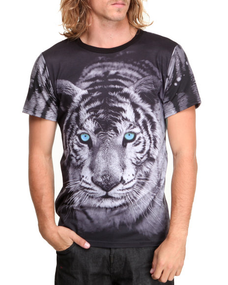 Buyers Picks - Men Black Carnivore Sublimation S/S Tee
