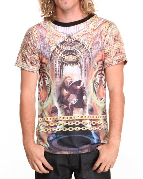 Buyers Picks - Men Multi New Cathedral Sublmation S/S Tee