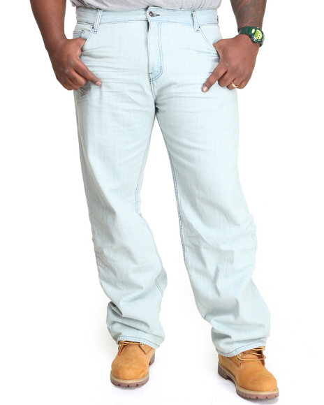 Rocawear - Men Light Blue Roc Linked Pocket Jeans (B & T)
