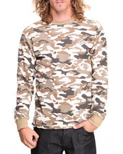 Men - Guevara Camo L/S Thermal