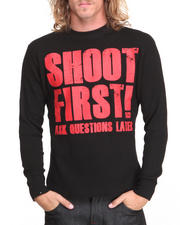 Thermals - Shoot First Ask Questions Later Thermal Shirt