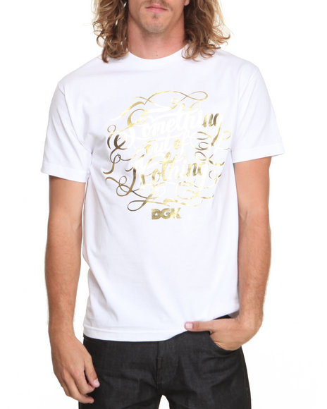 DGK White Motto Tee