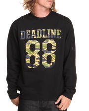 The Skate Shop - Tiger Camo Jersey Crewneck Sweatshirt