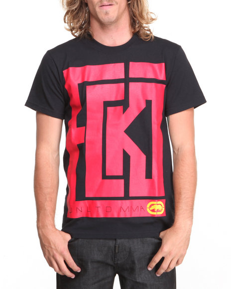 Ecko - Men Black Maze T-Shirt