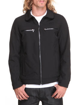 English Laundry - Soft Shell Fleece Lined Jacket (Water resistent)
