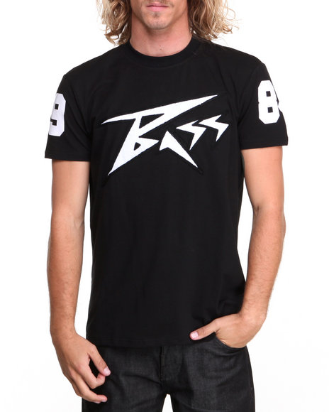 Bass By Ron Bass Black Bass Face S/S Tee