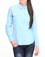 Polos & Button-Downs - Fine Baby Corduroy Annie Shirt