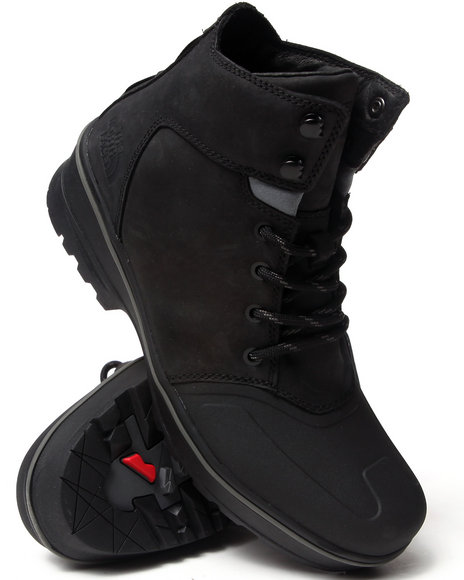 The North Face Black Mens Shellisto Mid Boots
