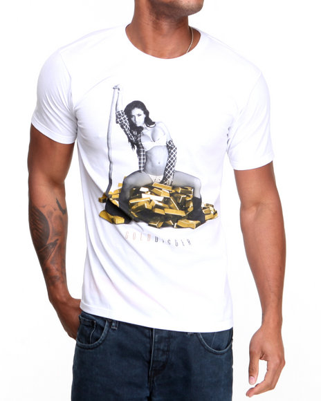 T.I.T.S. White Gold Digger Tee