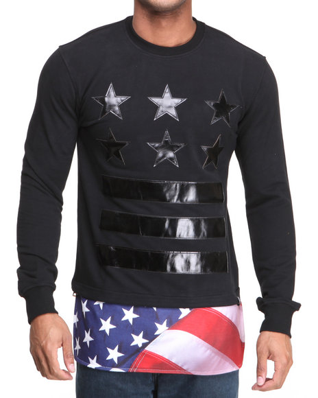 Hudson NYC Black General Of Armies Crewneck Sweatshirt