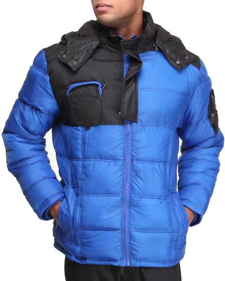 COOGI Blue Coogi Nylon Puffer Jacket
